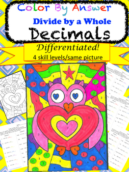 Students require practice of every concept they learn,DIFFwhy not let them ENJOY practicing?! This resource allows students to practice their newlylearned concepts and match the numbers to the colors in order to color a picture. There are 4 levels that offer easy differentiation.