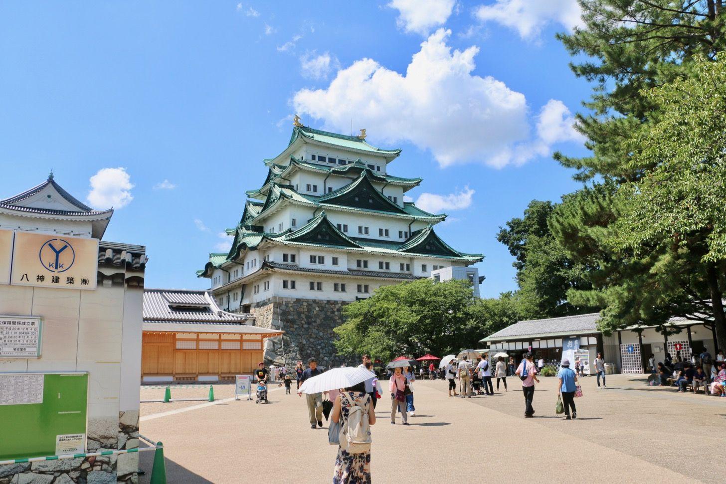 【名古屋城】「日本100名城に行こう」スタンプの設置場所 | 東京散歩ぽ