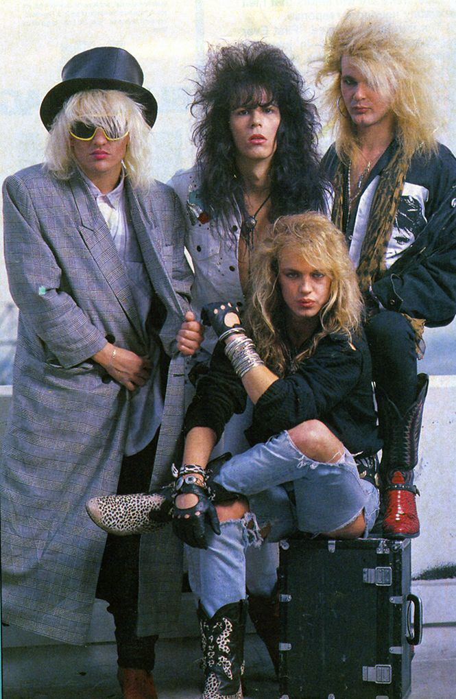 Poison That Melodic Hard Rock Glam Metal Band With Fashion Almost