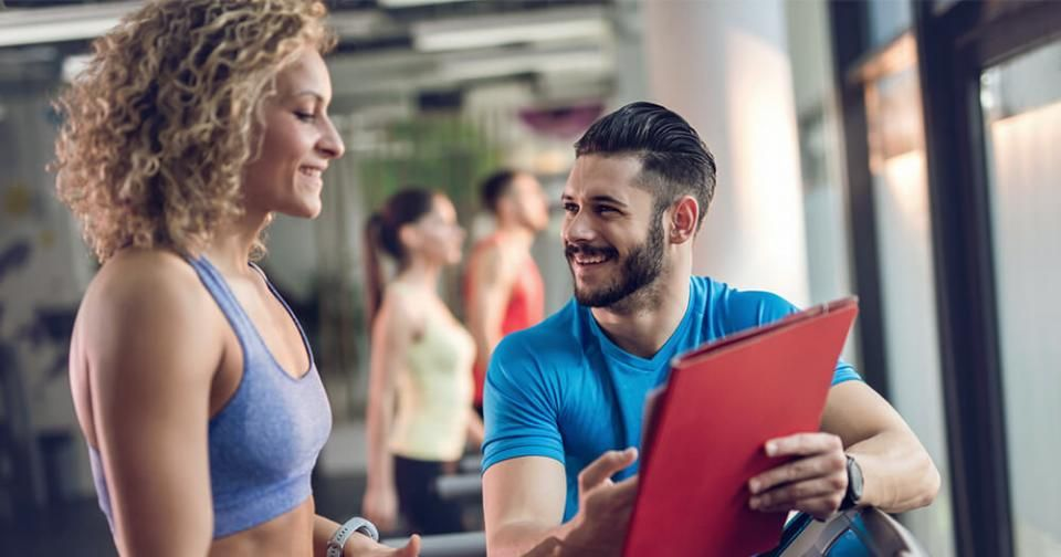 How to create a client base personal training business