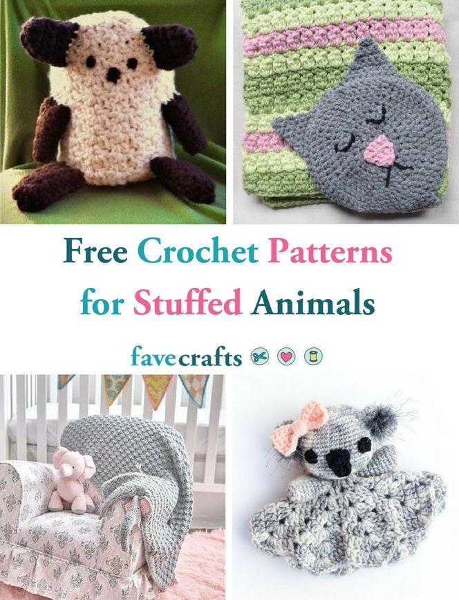 46 Free Crochet Patterns For Stuffed Animals Free Crochet