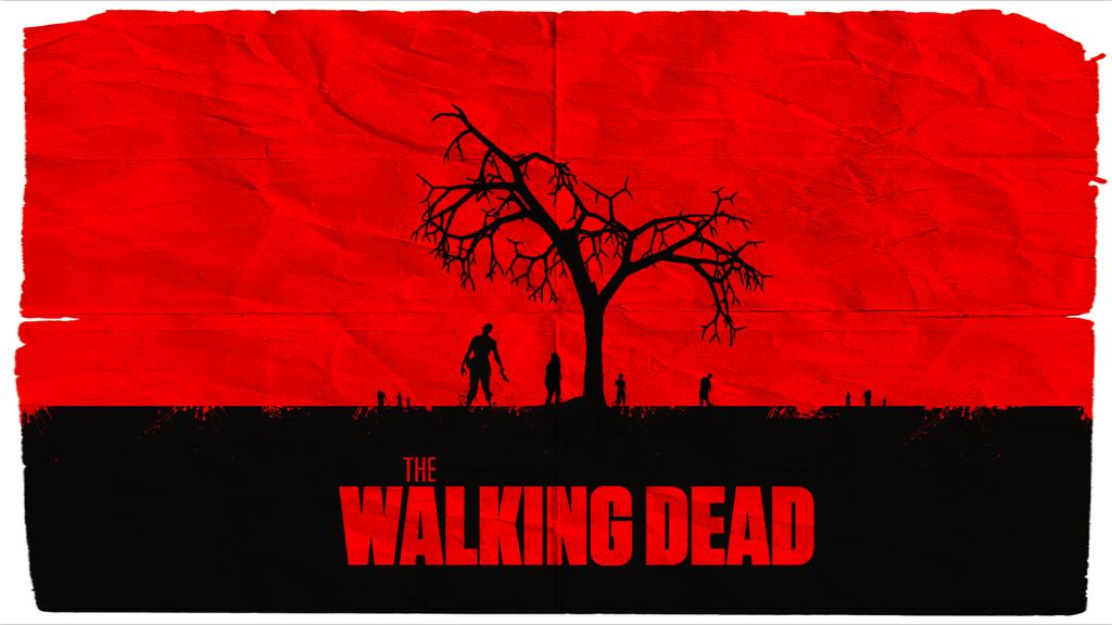 The Walking Dead Minimalist Wallpaper By V Intage Walking Dead Wallpaper The Walking Dead Dead