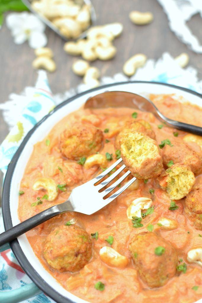 Boulettes De Legumes En Sauce A L Indienne Le Bon Vegetal Les Recettes De Juliette Boulette De Legumes Plat Vegetarien Recette Legume Accompagnement