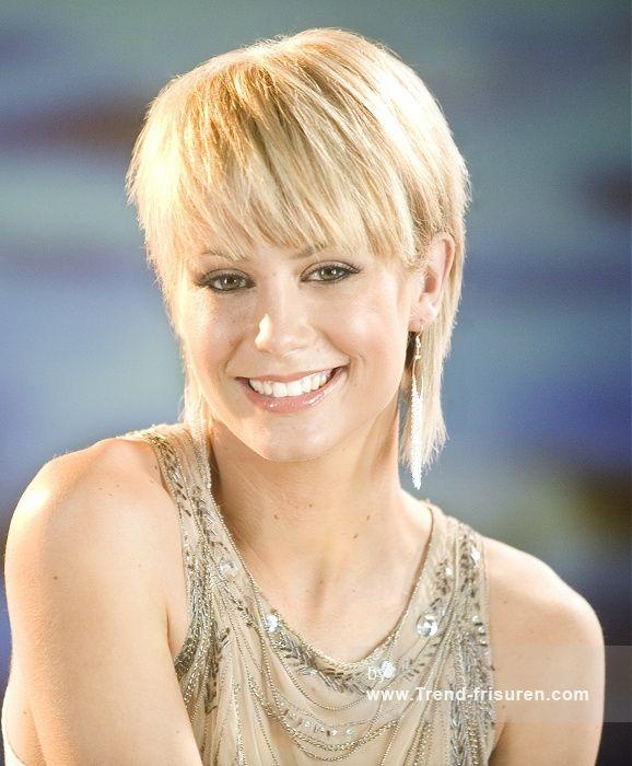 MAURICE MEADE Kurze Blonde weiblich Gerade Farbige Layered Australian Womens Haarschnitt Frisuren Hairstyles