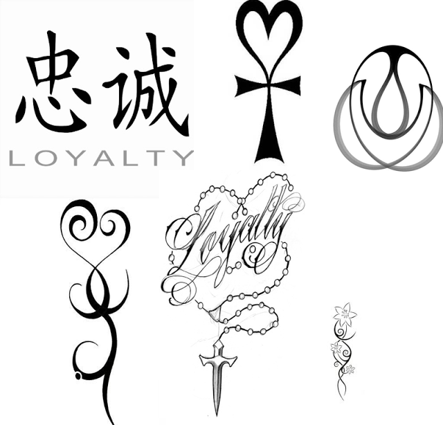 Loyalty Sign Tattoo Designs Beauty Pinterest Tattoo Designs
