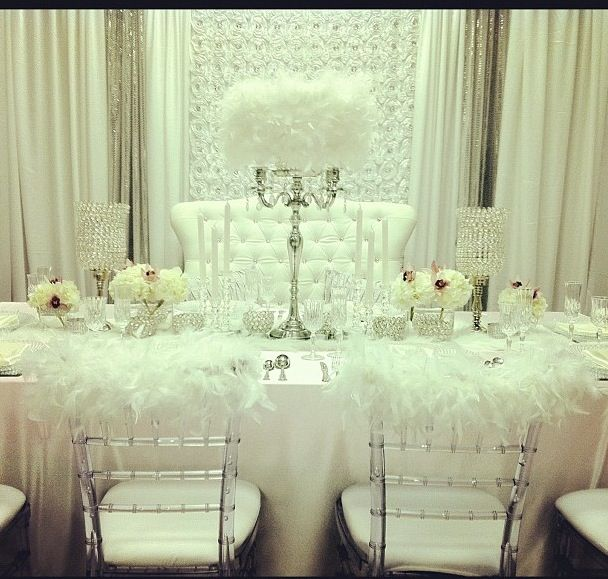 Heaven On Earth Table Setting Reserved Wedding Decor Xclusivedesigns