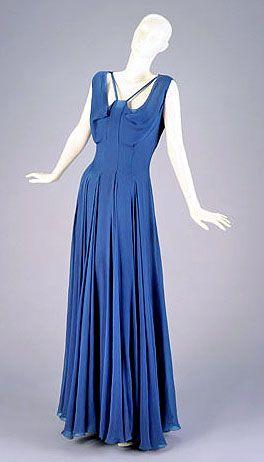 Elizabeth Hawes – Fashion Radical   Coletterie Dress and slip, 1935.