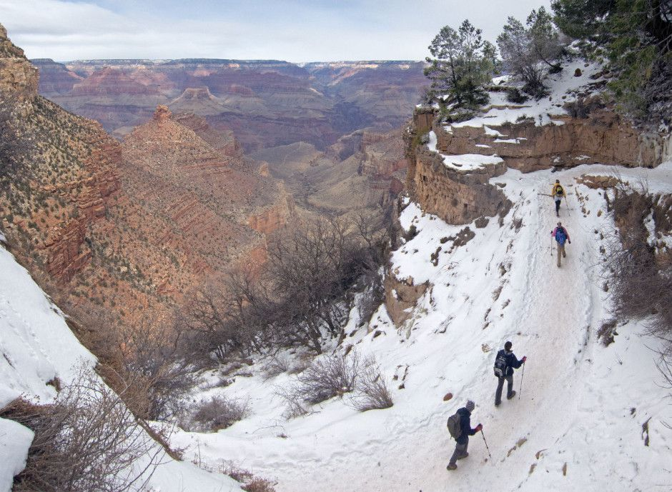 This Is What Winter Looks Like In Arizona Grand Canyon