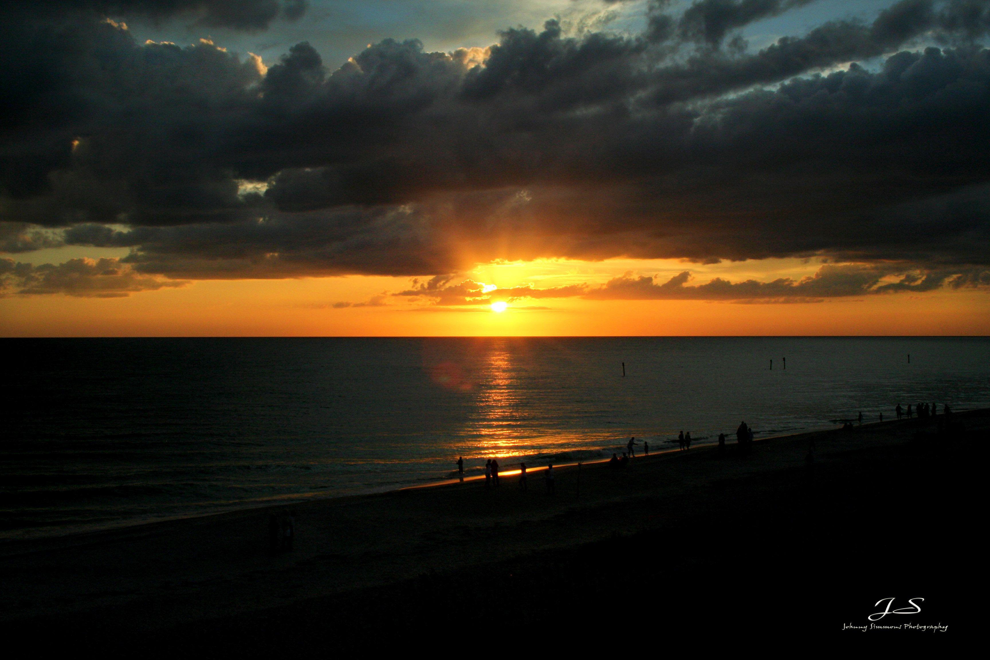 Englewood beach FL sunset   Englewood beach, Sunset photos ...