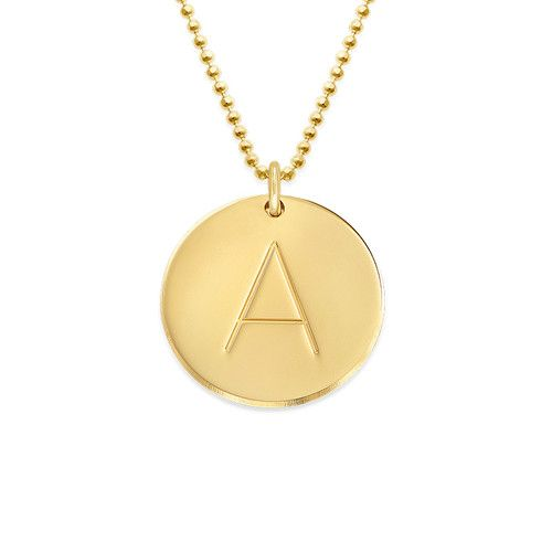 Initialenkette Aus 417er Gold In 2020 Initial Necklace Gold Shop Necklaces Gold Initial