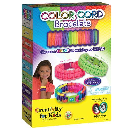 Color Cord Bracelets Bracelet Kits Cord Bracelets Coloring For Kids