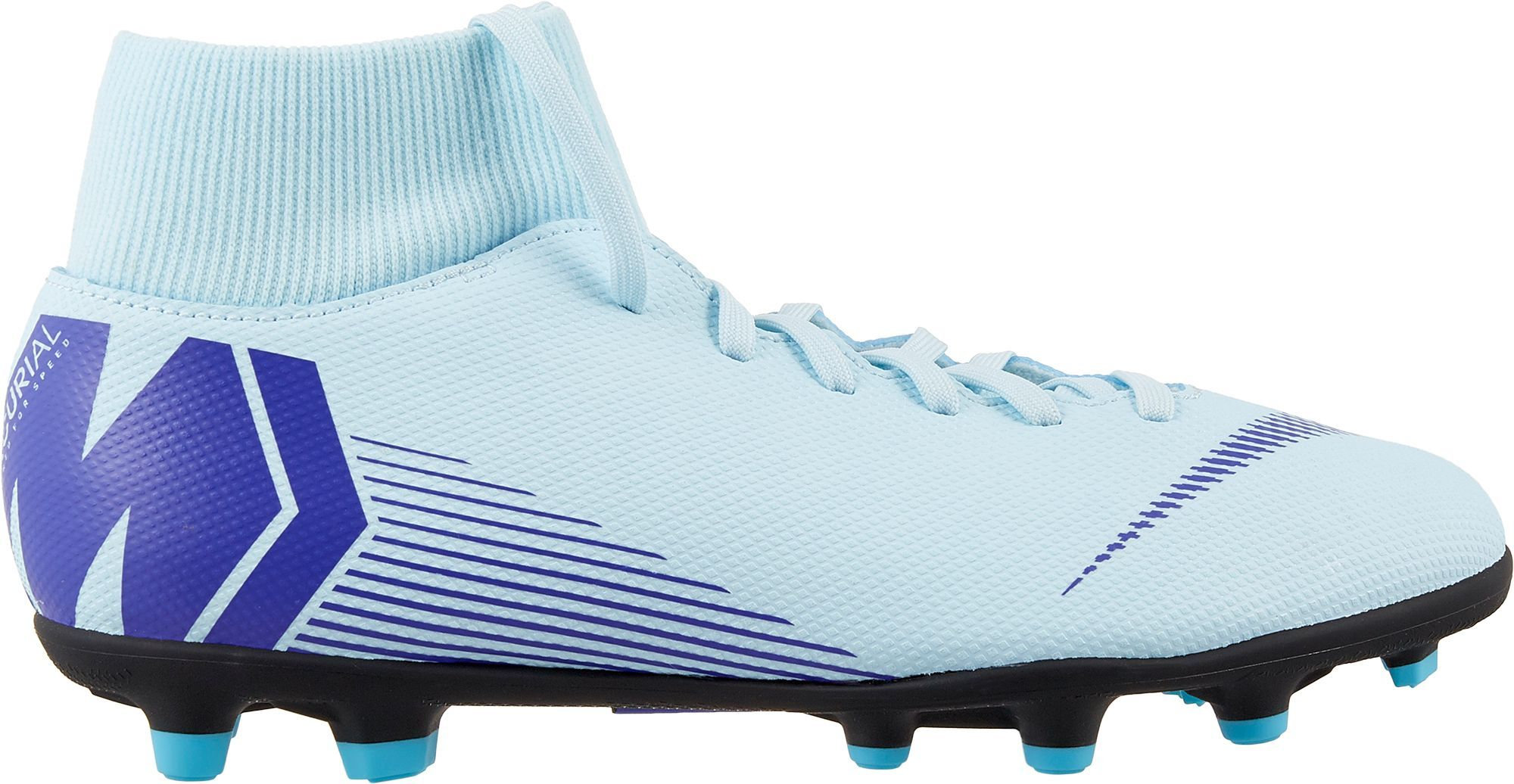 f9459b36d Nike Mercurial Superfly 6 Club MG Soccer Cleats, Women's, Size: M10/W11.5,  Blue