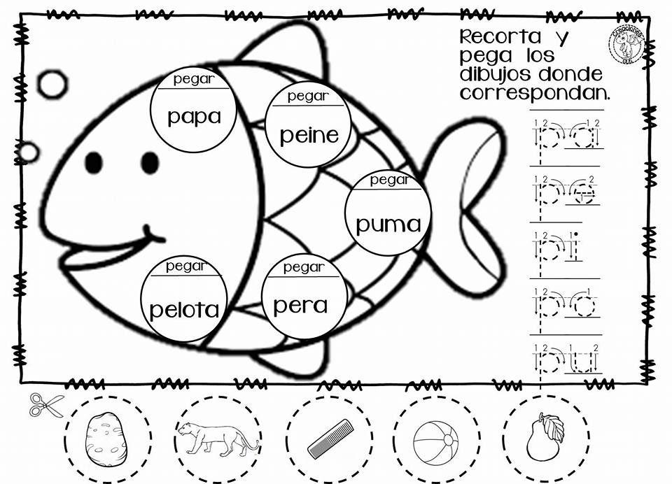 Estupendas actividades creativas para trabajar y aprender las letras ...