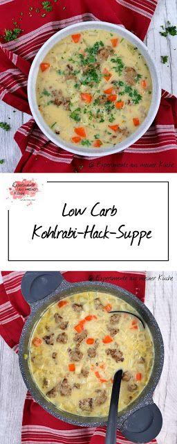 Low Carb Kohlrabi-Hack-Suppe #lowcarbrezeptedeutsch