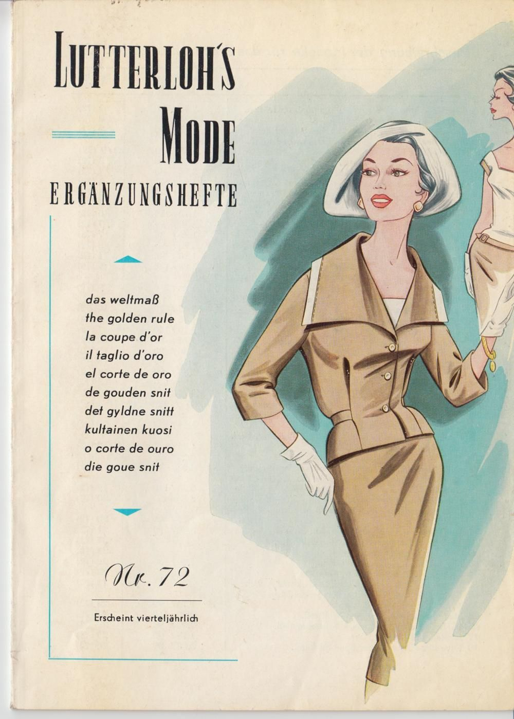 Vogue vintage sewing patterns designers and fashion