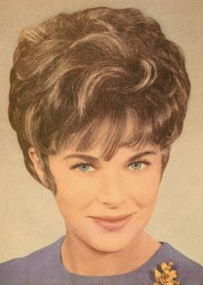 Pin On The Old Styles Bouffant Wetset Hair