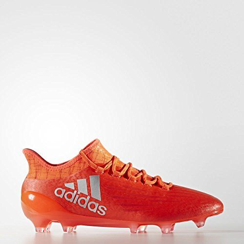 0330aa16665bc3 ¡Deal! Adidas X 16.1 FG Mens Soccer Cleats 7 Solar Red-Silver Met-Hi Res  Red - Crazy By Deals discounts and bargains