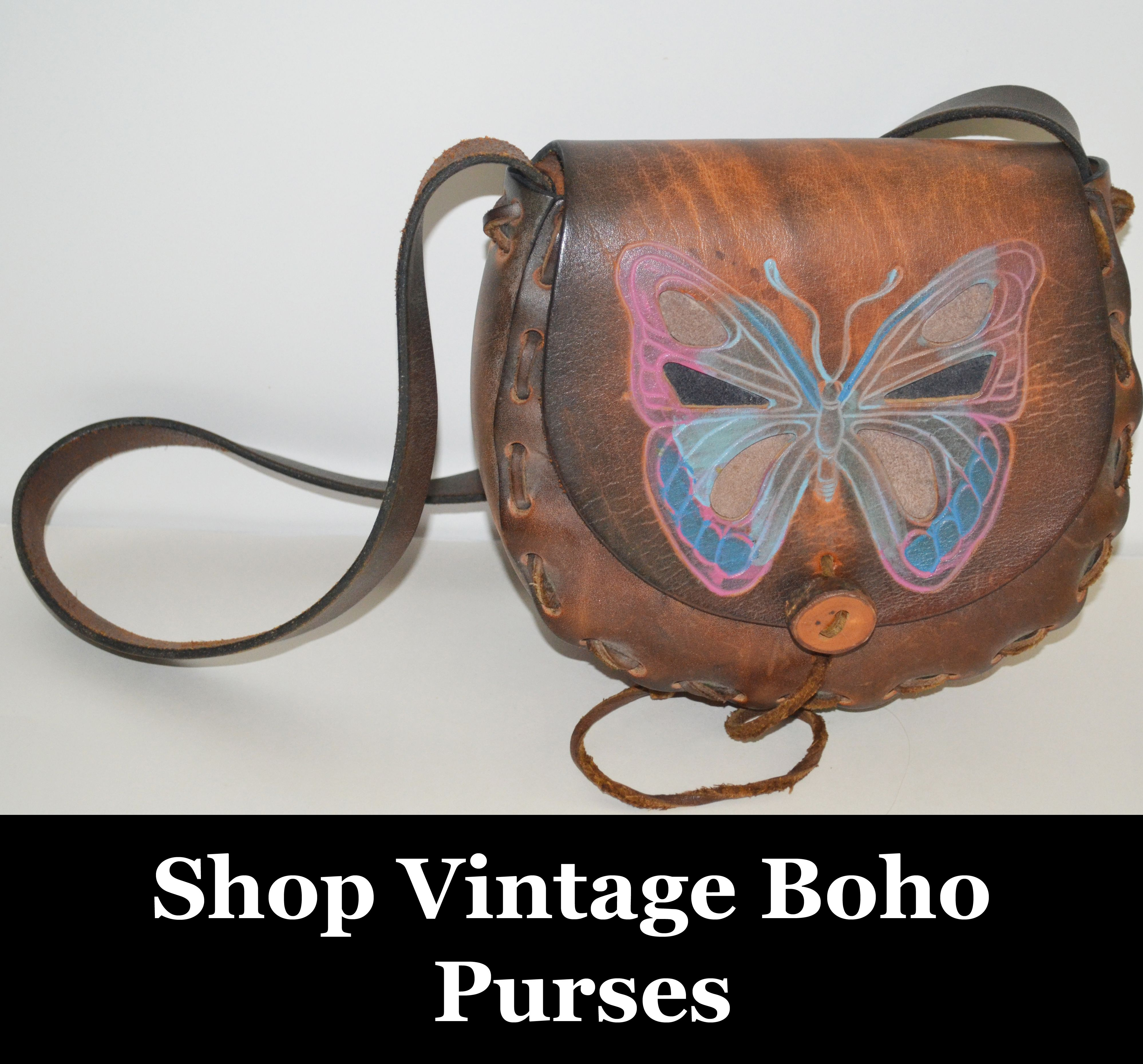 Add a bit of throwback flair to your wardrobe with a unique vintage clutch or handbag.  Shop the largest collection of affordable vintage handbags, purses, and clutches and standout from the crowd.