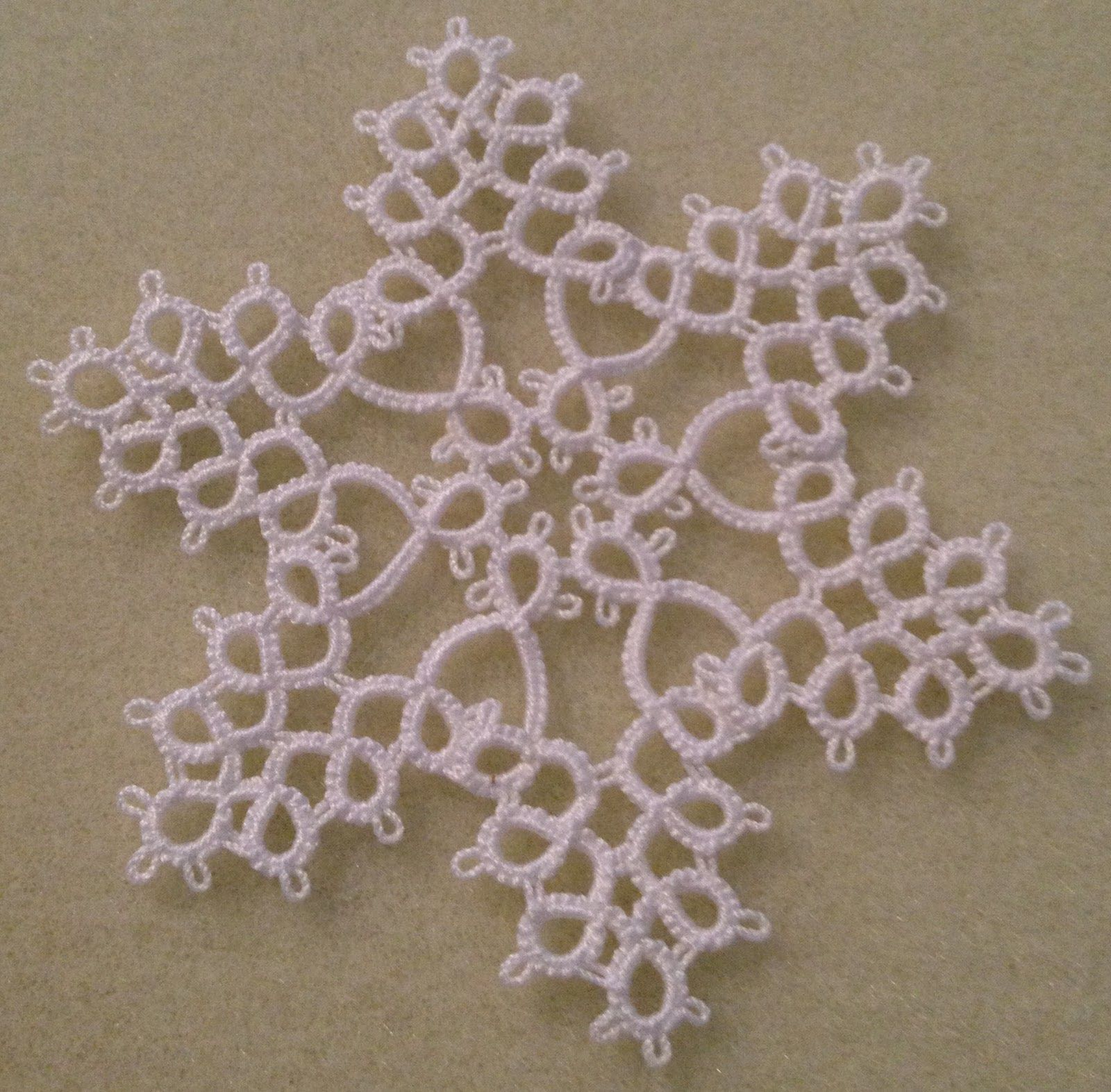 Needle Tatting Instructions | TATTED SNOWFLAKE PATTERNS | Browse ...