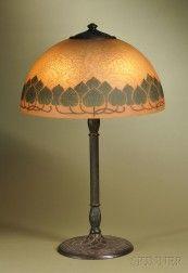 Handel Table Lamp Painting
