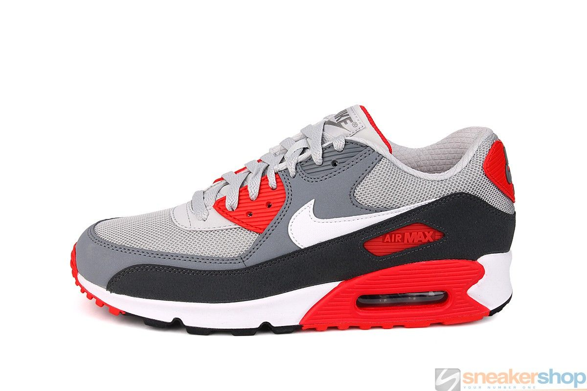 new products db910 b2054 Nike Air Max 90 Essential (Dusty Grey White-Cool Grey-Anthracite)