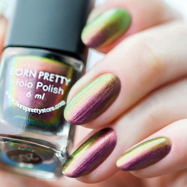 6ml Born Pretty Chameleon Polish Nail Polish Varnish (Black Base ...