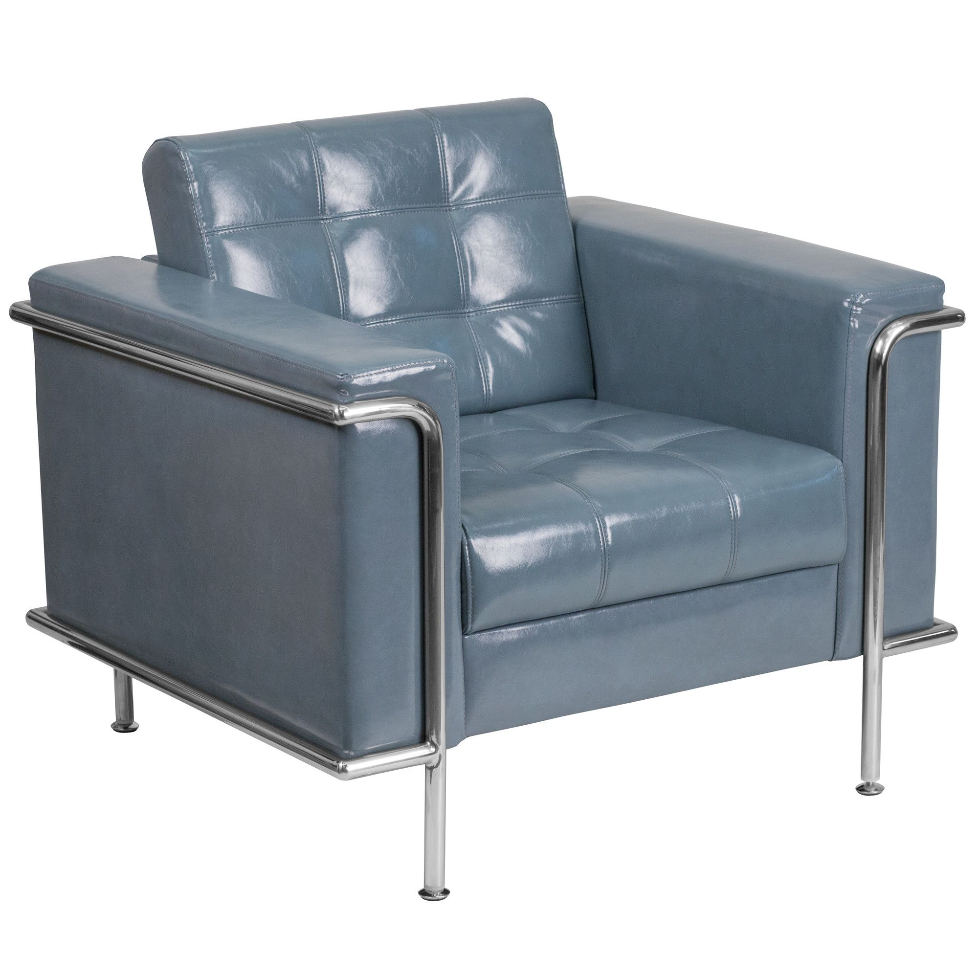 Hypnos leather guest chair