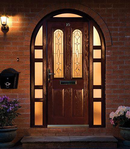 Force8 arched door frame & Force8 arched door frame | Curb Appeal | Pinterest | Front doors ...
