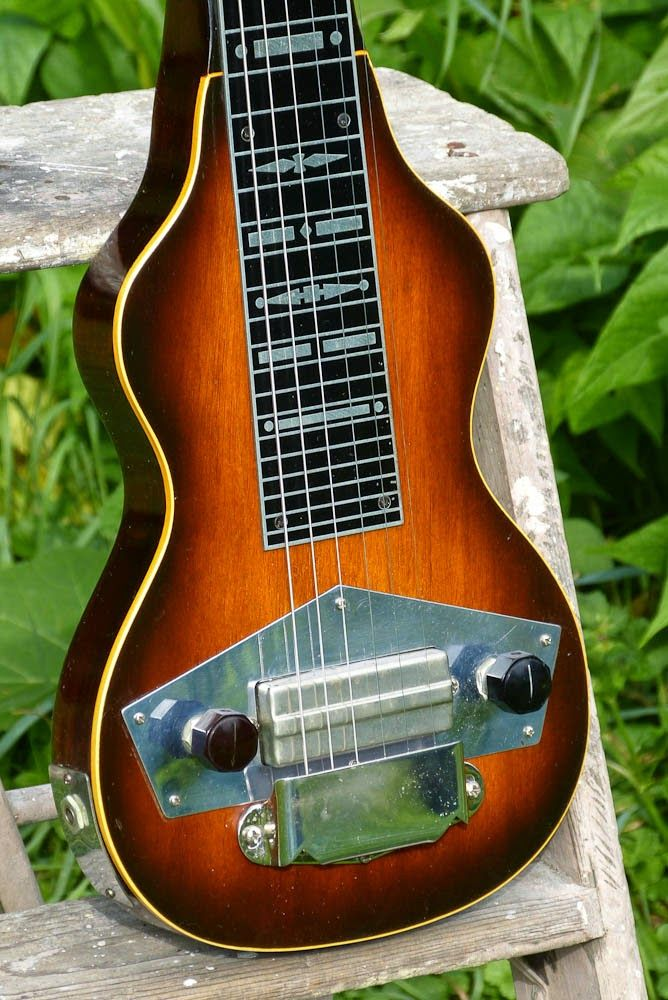 C 1941 Gibson Eh 125 Lap Steel Electric Guitar Lap Steel Lap Steel Guitar Guitar