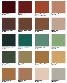 Sherwin Williams Queen Anne Victorian Historic Color Palette