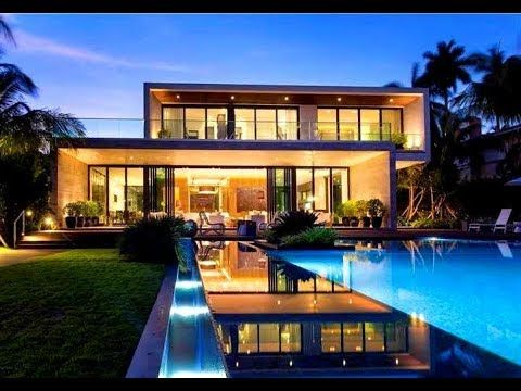 Luxury Best Modern Architecture Beach Mansion Miami Beach Mansion Miami Houses
