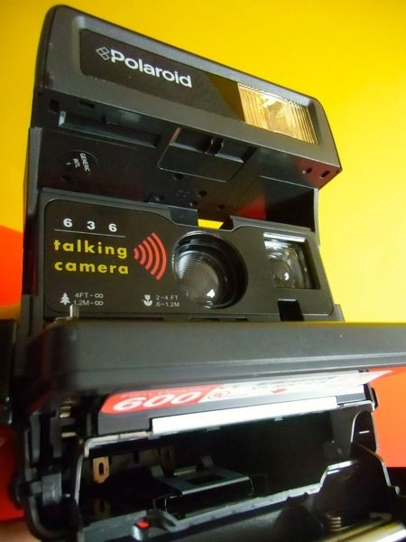 Polaroid 636 Talking Camera Sprechende Kamera Elektronik Polaroid