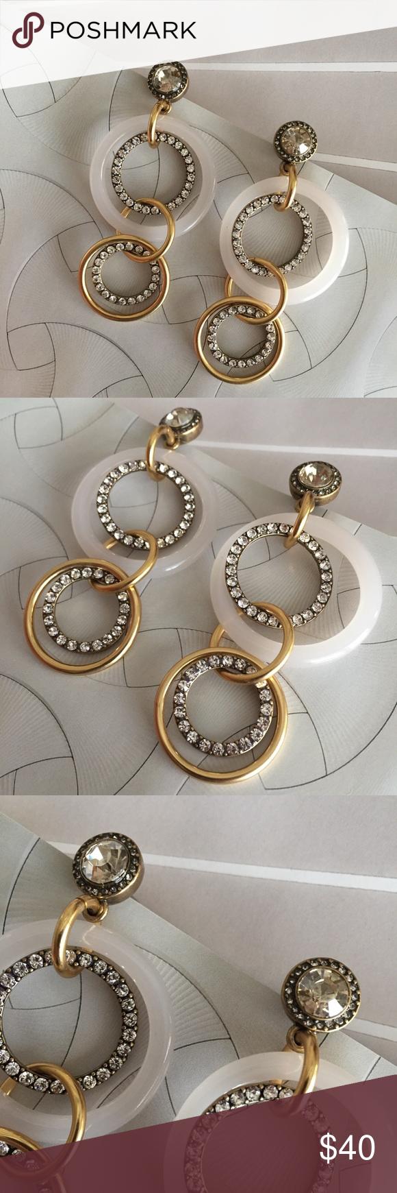 sale   j crew   circle drop earrings   Drop earrings, Fun ...