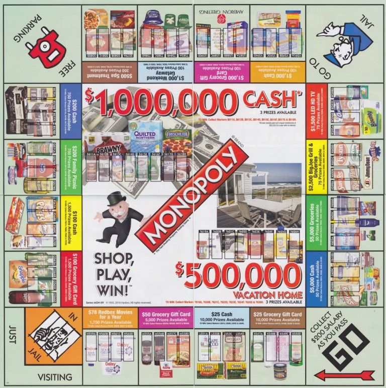 photograph regarding Albertsons Monopoly Game Board Printable known as How in direction of Perform Albertsons Monopoly On line Albertsons Monopoly