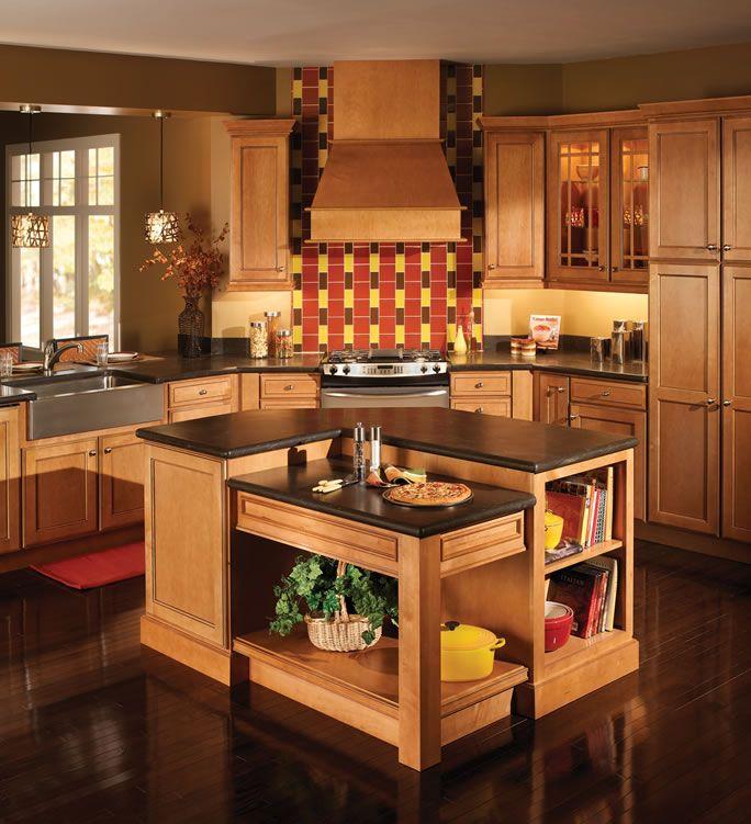 Honey Maple Kitchen: General Builders Supply, Inc.