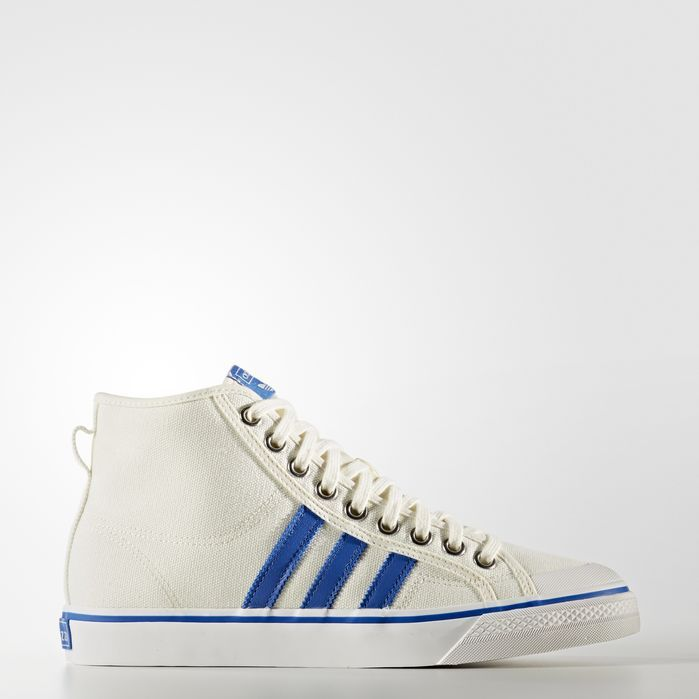 adidas Nizza Hi Shoes Mens High Tops in 2019 | Adidas