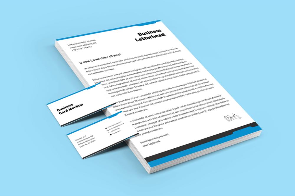 35 Best Branding Stationery Mockups Mediamodifier Business Card Mock Up Stationery Mockup Branding Template