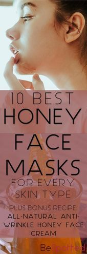 Pinterest friendly image for DIY Honey Face Mask – #Image #DIY #Face #friendly ….