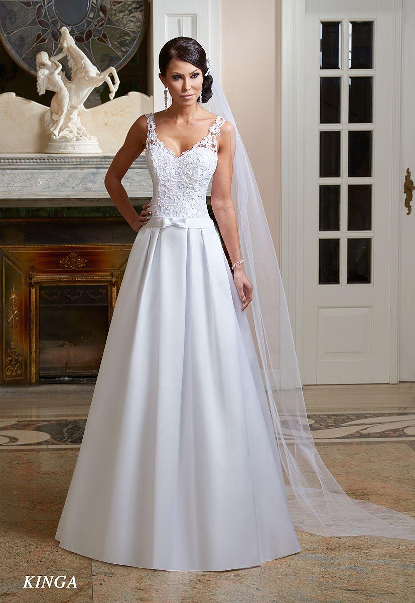 Suknie ślubne Fasson Wedding Dresses By Dorota Wr 243 Bel