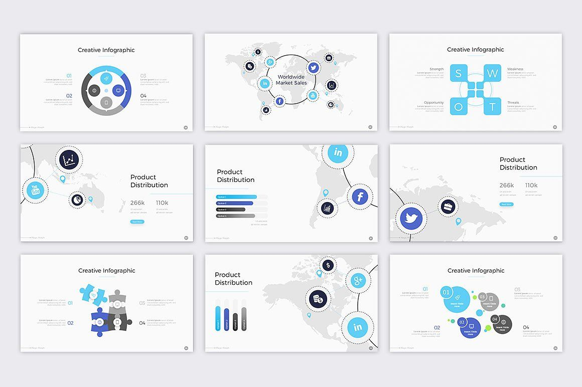 Magic Morph Powerpoint Template by BrandEarth on @creativemarket