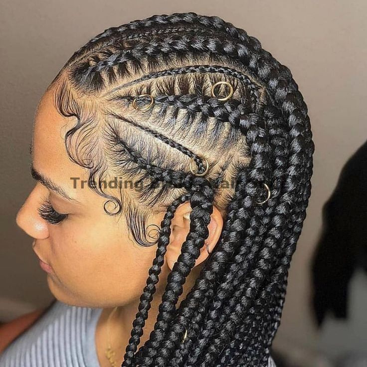 Easy & Trending Braids Hair Style Ideas #briadshair #crotchetbraids