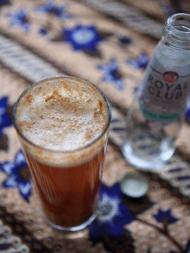Puha, or spicy tamarind sosft drink from Ghana