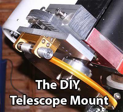 The DIY Arduino Telescope GOTO control project | Arduino | Diy