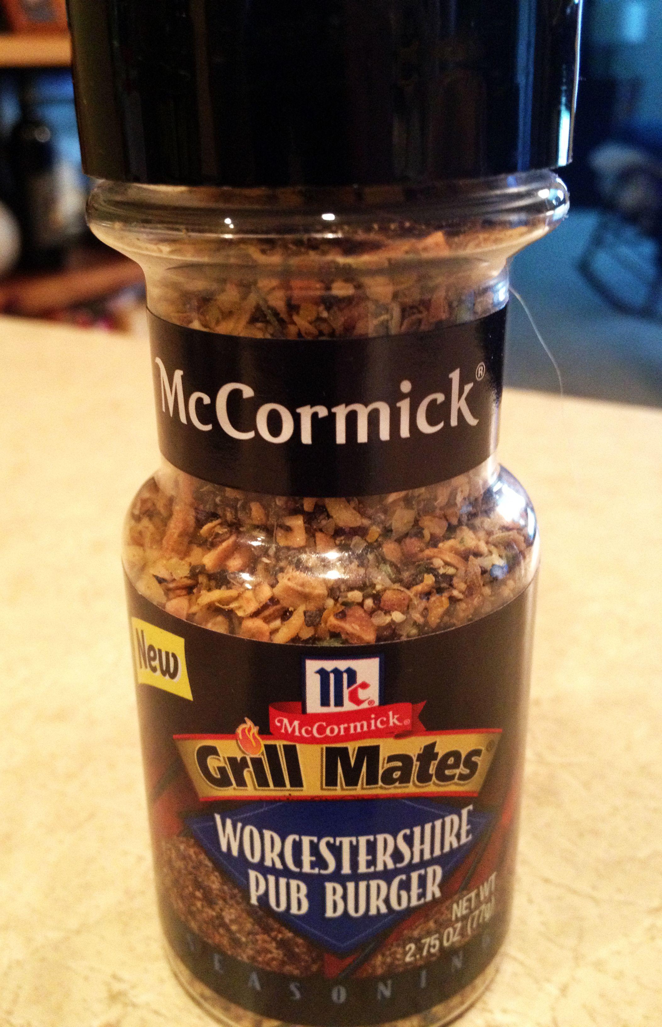 Big Fan Of Mccormick S Grill Master Worcestershire Pub Burger Seasoning Burger Seasoning Recipes Favorite Recipes