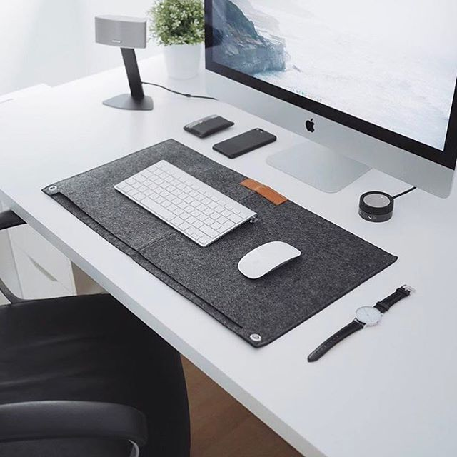 Black Desk Mats Available From Ultralinx Link In Bio