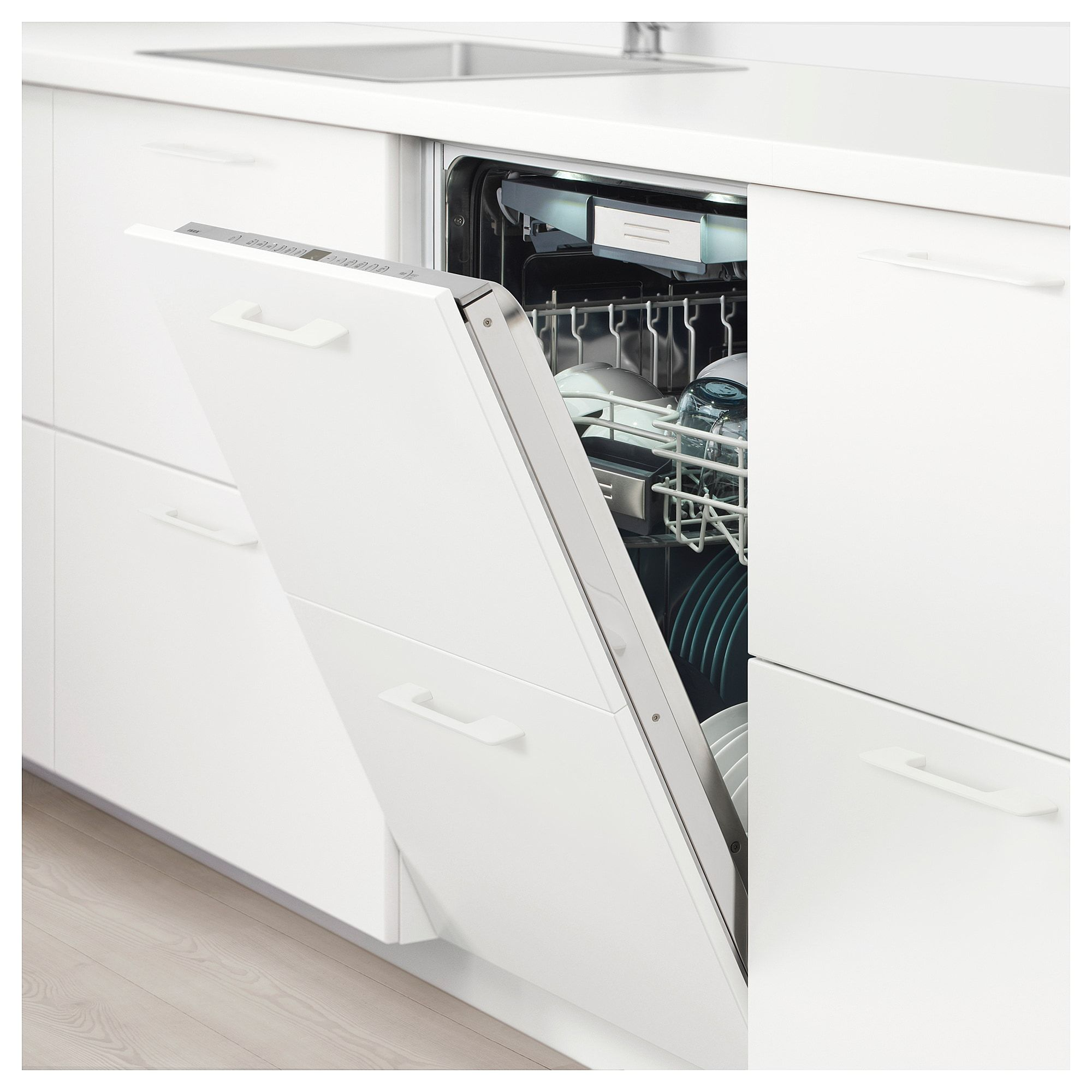 Diskad Geschirrspuler Integr Geschirrspuler Einbaugerate Und Ikea