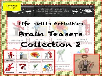 brainteasers collection 2 fun activities teaching ideas and