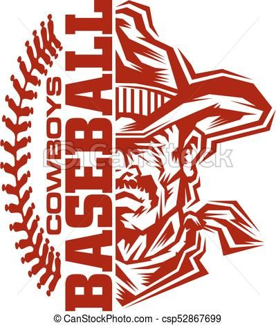 cowboys baseball vector stock illustration royalty free rh pinterest com Home Plate Vector Bomb Squad Vector