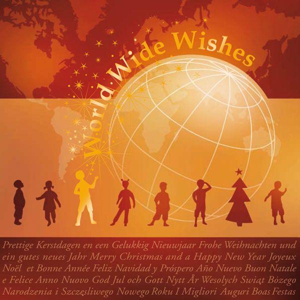 Kerstkaart World Wide Wishes  http://kerstkaarten.cardsandcards.nl