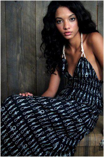 NAUTICAL HALTER | Summer, Maxi dress tutorials and Maxi dresses